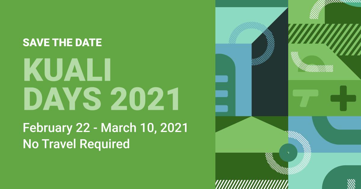 Kuali Days 2021